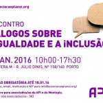 I Encontro da Associação Plano i – Diálogos sobre a Igualdade e a Inclusão
