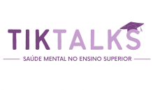 Logo TikTalks - com fundo